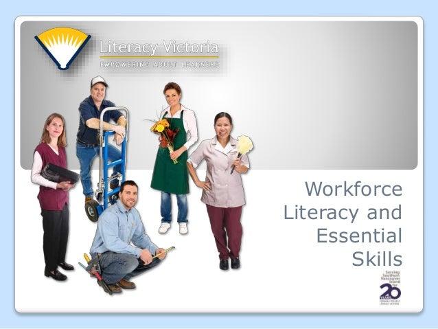 Workforce Literacy and Essential Skills