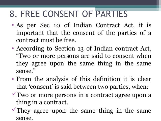 key elements of a valid contract and their importance essay Additional elements of informed consent subjects should be informed of circumstances under which their participation may be terminated by the investigator.