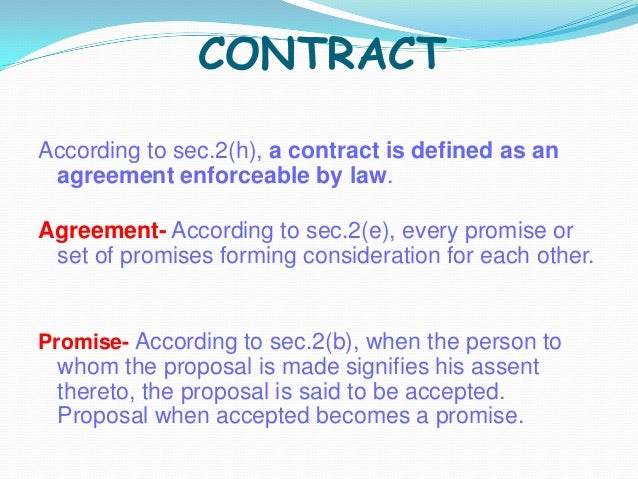 valid contract meaning