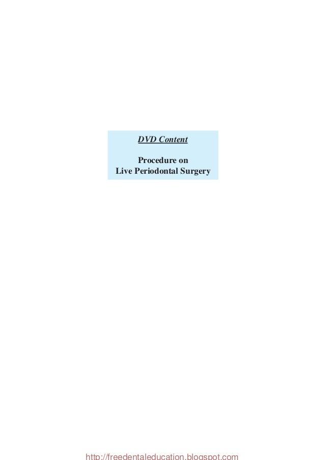 Carranzas Clinical Periodontology Pdf