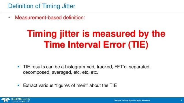 clock jitter
