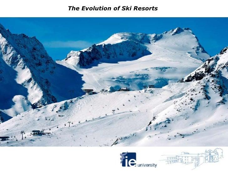 The Evolution of Ski Resorts