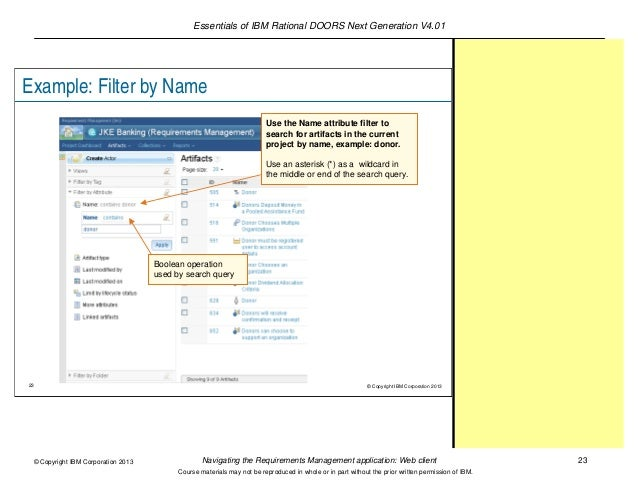23.  sc 1 st  SlideShare & Lecture 3: Navigating the Requirements Management application: Web clu2026 pezcame.com