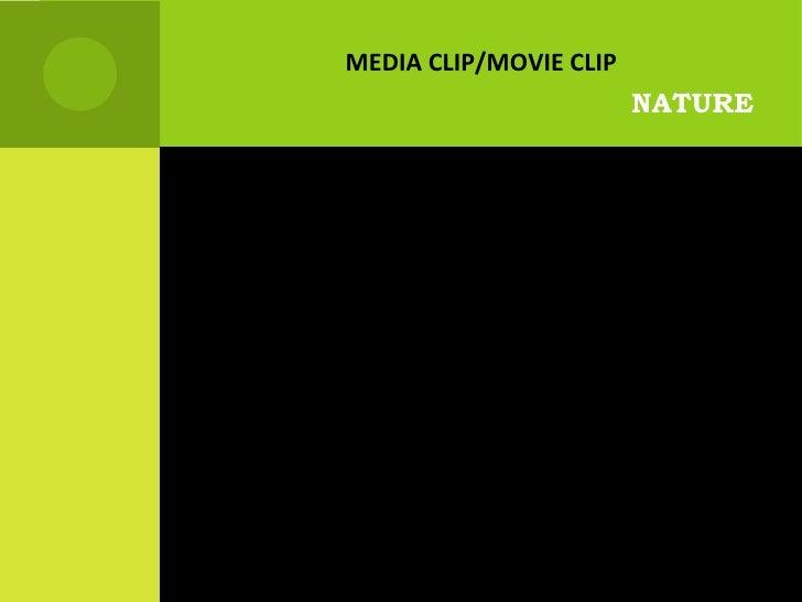 NATURE MEDIA CLIP/MOVIE CLIP