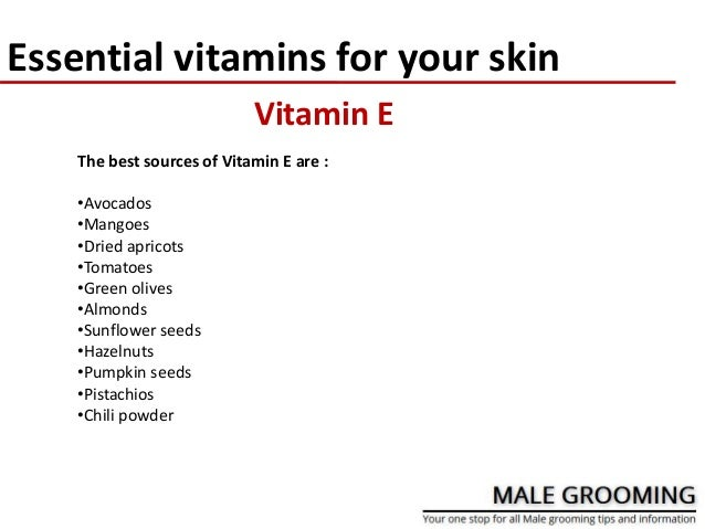 Essential Vitamins For Your Skin