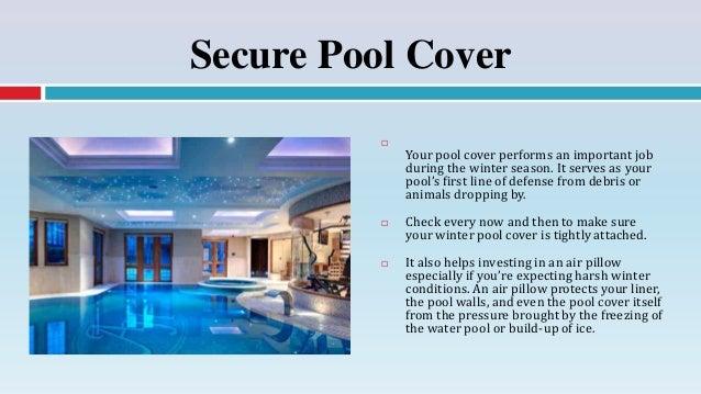 6. Secure Pool ...