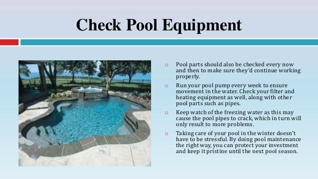 7. Check Pool ...