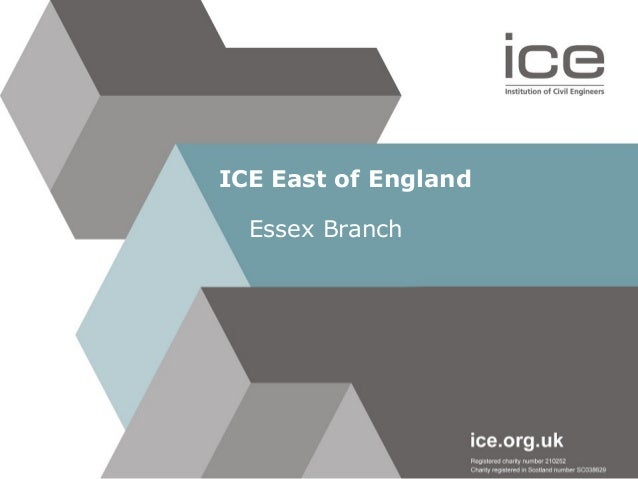 ICE East of England Essex Branch