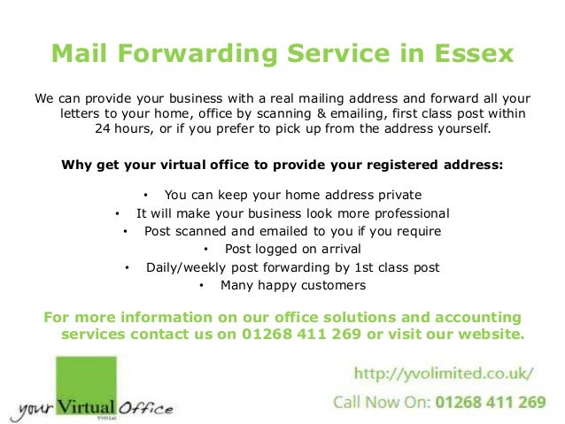 Mail Forwarding Service ...