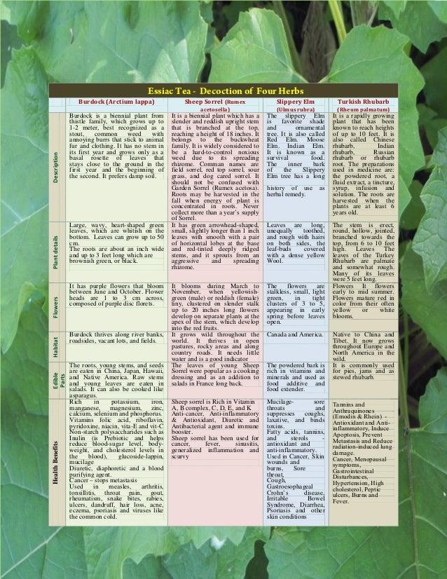 Essiac Tea The Miracle Treatment Of Cancer