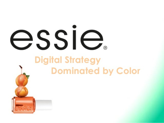 Digital Strategy    Dominated by Color