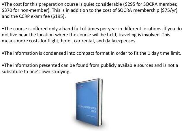 es socra ccrp exam study guide an ultimate resource for the socra c rh slideshare net es socra ccrp study guide socra study guide printable