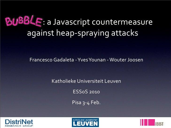 :  a  Javascript  countermeasure                     ...