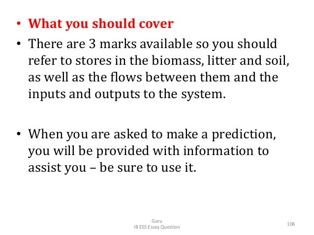 • What you should cover • There are 3 marks available so you should refer to stores in the biomass, litter and soil, as we...