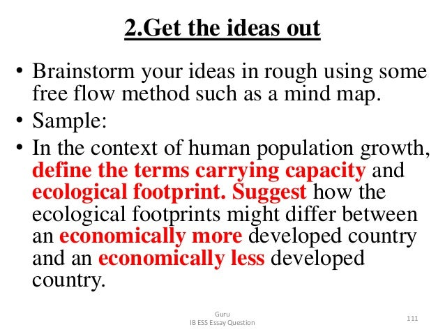 2.Get the ideas out • Brainstorm your ideas in rough using some free flow method such as a mind map. • Sample: • In the co...