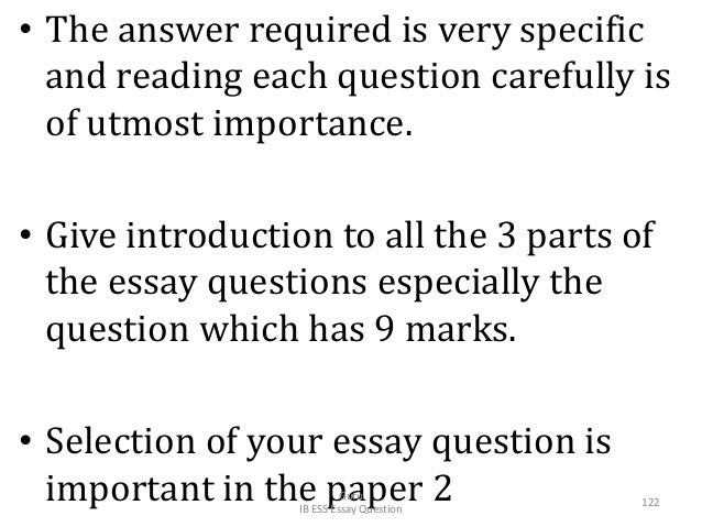 • The answer required is very specific and reading each question carefully is of utmost importance. • Give introduction to...