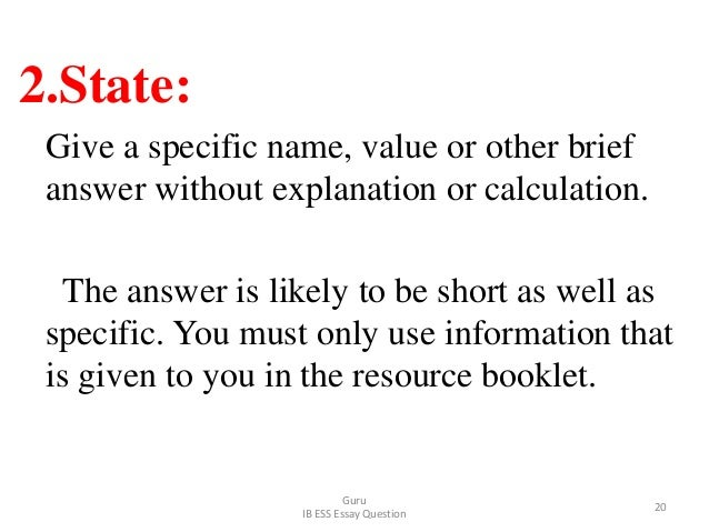 2.State: Give a specific name, value or other brief answer without explanation or calculation. The answer is likely to be ...