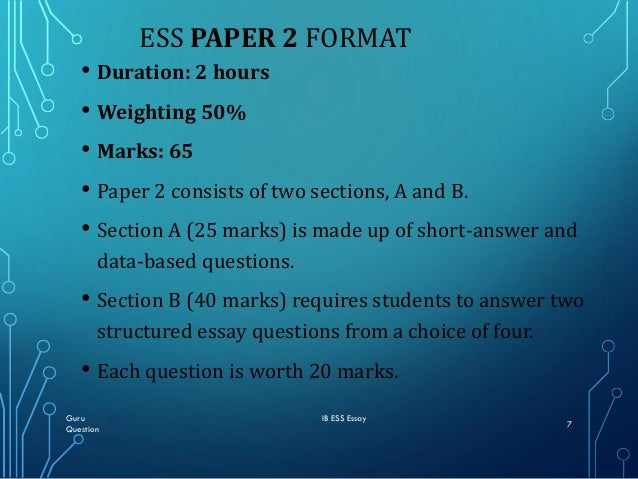 The Call Of The Wild Essay Guru Ib Ess Essay Question   Ess Paper  Family Introduction Essay also Science Development Essay How To Write Ess Essay Questions In Paper First Exam  Domestic Violence Essays