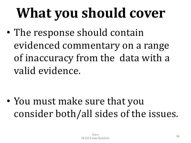 • The response should contain evidenced commentary on a range of inaccuracy from the data with a valid evidence. • You mus...