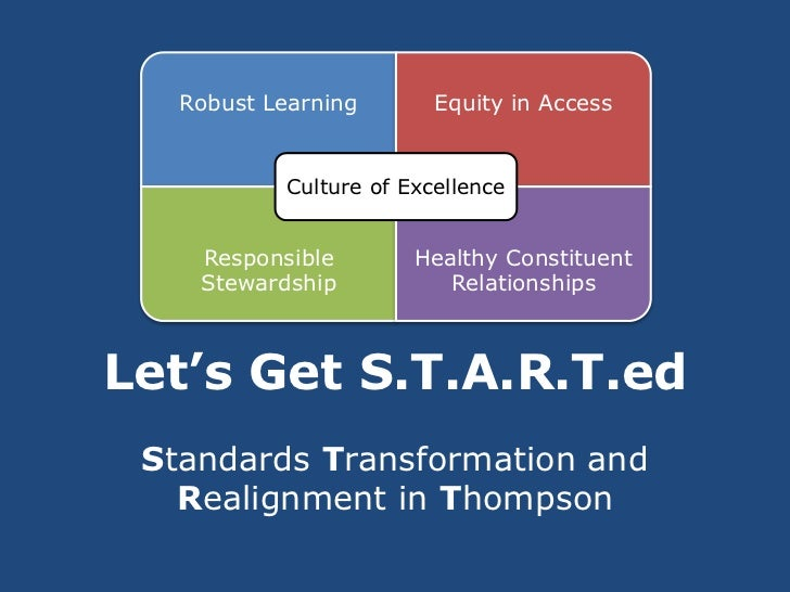 Robust Learning       Equity in Access           Culture of Excellence    Responsible        Healthy Constituent    Stewar...