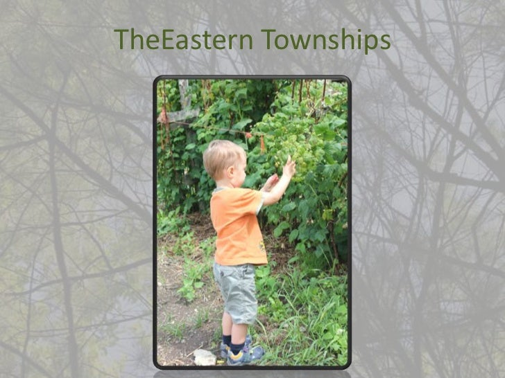 TheEastern Townships