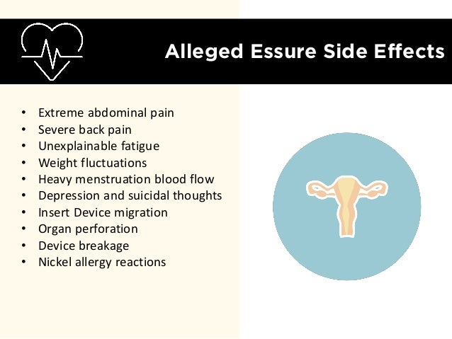 Essure Insert Complications See The Data Prompting
