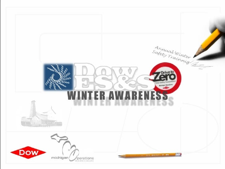 Annual Winter Safety Trainnig