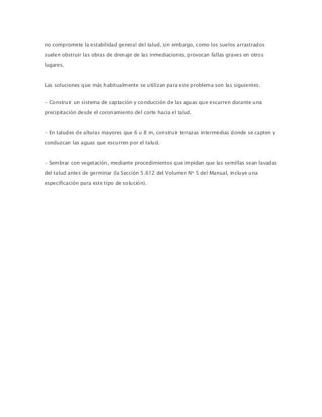 Estabilidad De Taludes De Cortes