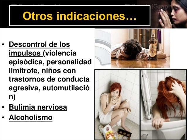 Intoxicación • El litio tienen un índice terapéutico-toxico muy estrecho. • Tiene efecto toxico por encima de los 1.5 mEq/...