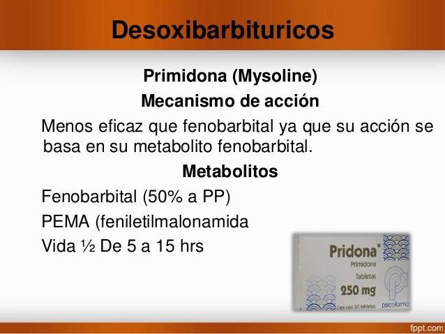 Toxicidad • Nauseas, vómito y anorexia. • Somnolencia, letargo, euforia, mareos. • Vida ½ 40-50 hrs en el adulto, 30 hrs a...