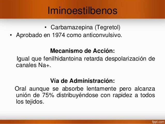 Vía de administración • Oral Se alcanza máxima absorción de 1-4 hrs pero se retrasa con alimentos o en comprimidos. Alcanz...