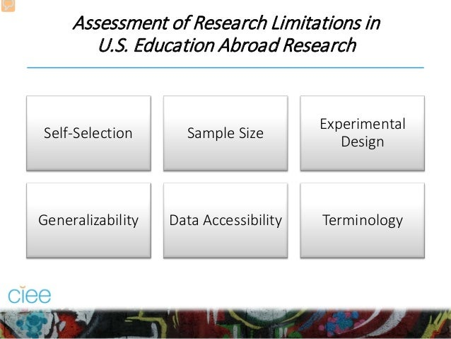Establishing a Research Agenda for US Education Abroad – Research Agenda Sample