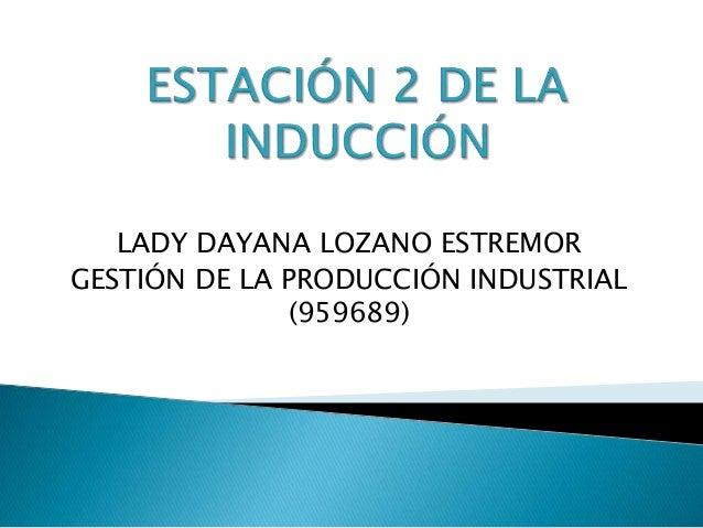 LADY DAYANA LOZANO ESTREMOR GESTIÓN DE LA PRODUCCIÓN INDUSTRIAL (959689)
