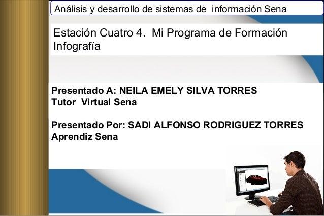 Análisis y desarrollo de sistemas de información Sena Presentado A: NEILA EMELY SILVA TORRES Tutor Virtual Sena Presentado...