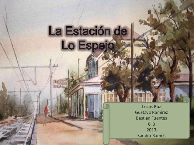 Estacion de trenes lo espejo 6b for Lo espejo 04500