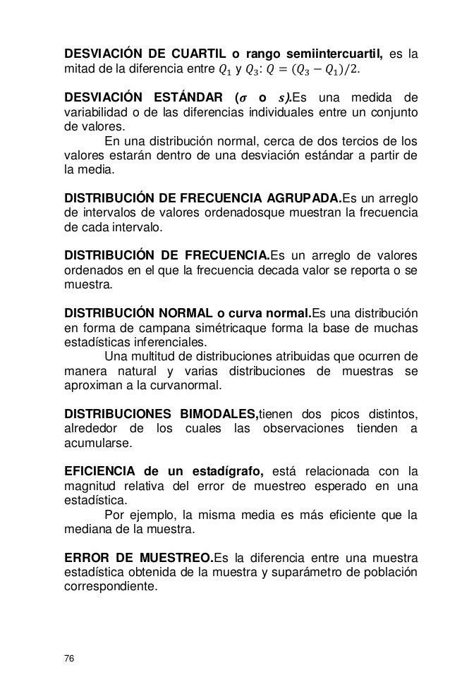 ESTADÍSTICA BÁSICA PARA LAS CIENCIAS SOCIALES Y EL COMPORTAMIENTO.
