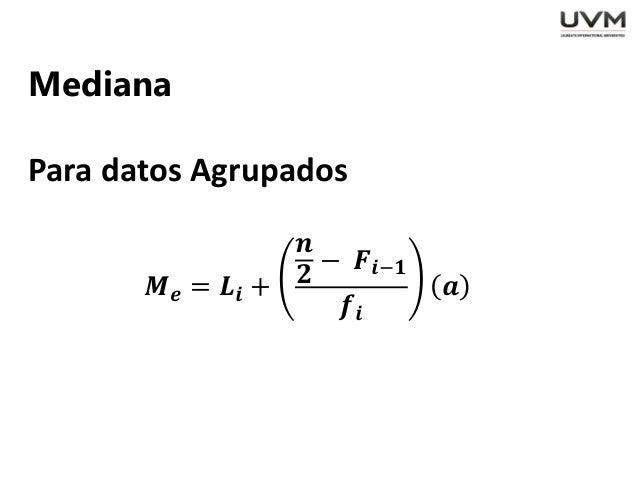 Estadistica Inferencial Medidas De Dispersion Y Tendencia Central