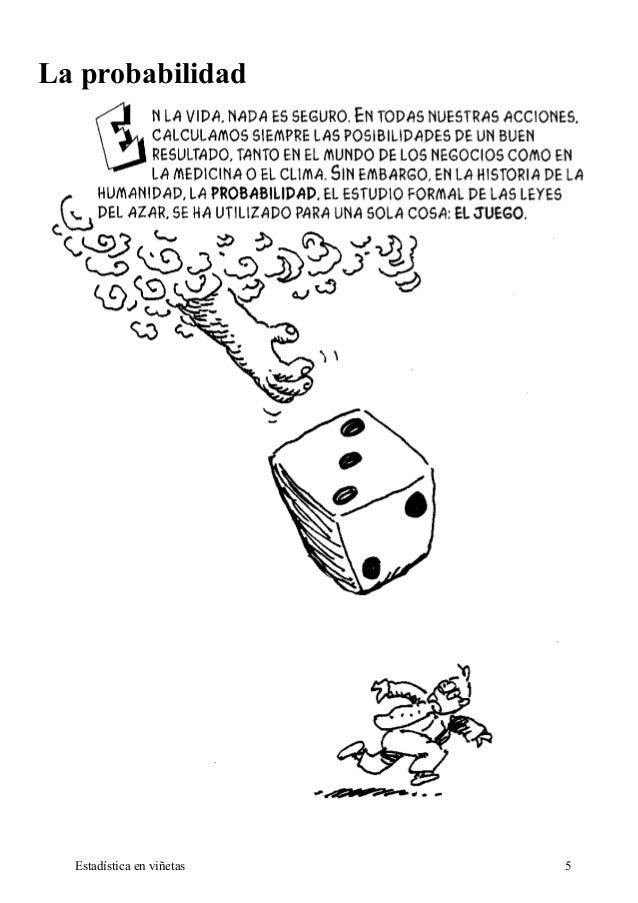 La probabilidad  Estadística en viñetas 5