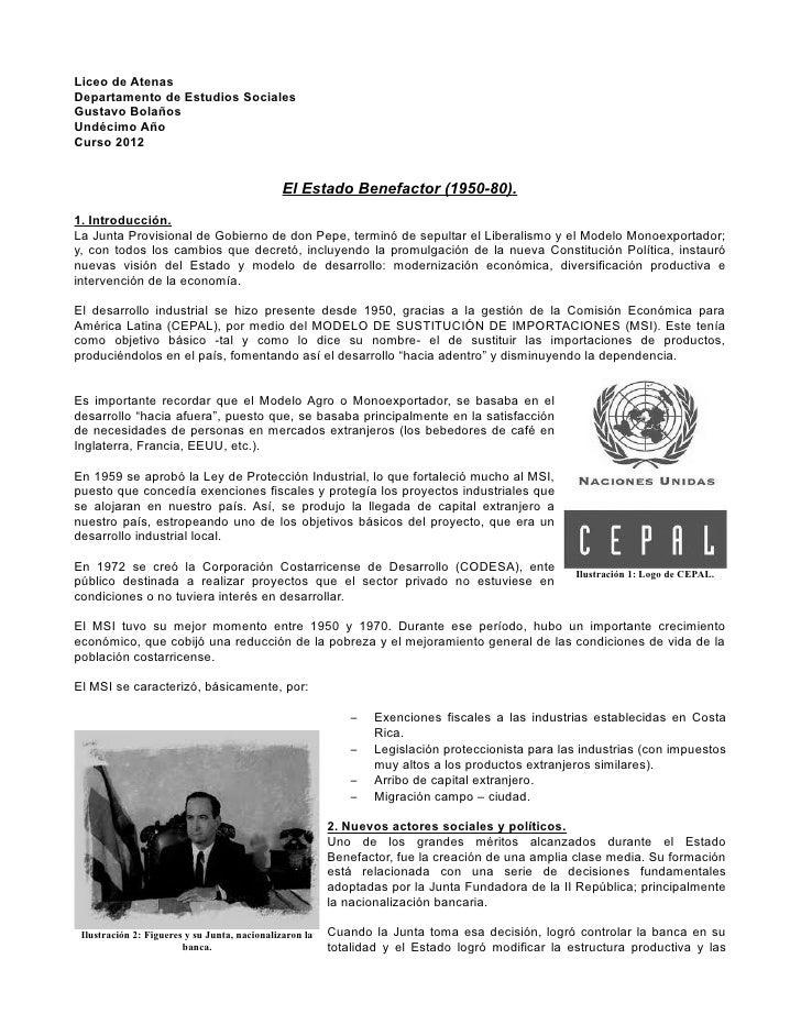 Liceo de AtenasDepartamento de Estudios SocialesGustavo BolañosUndécimo AñoCurso 2012                                     ...