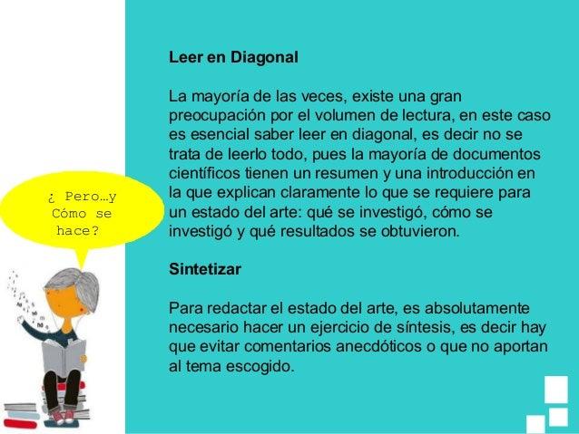 Leer en Diagonal La mayoría de las veces, existe una gran preocupación por el volumen de lectura, en este caso es esencial...