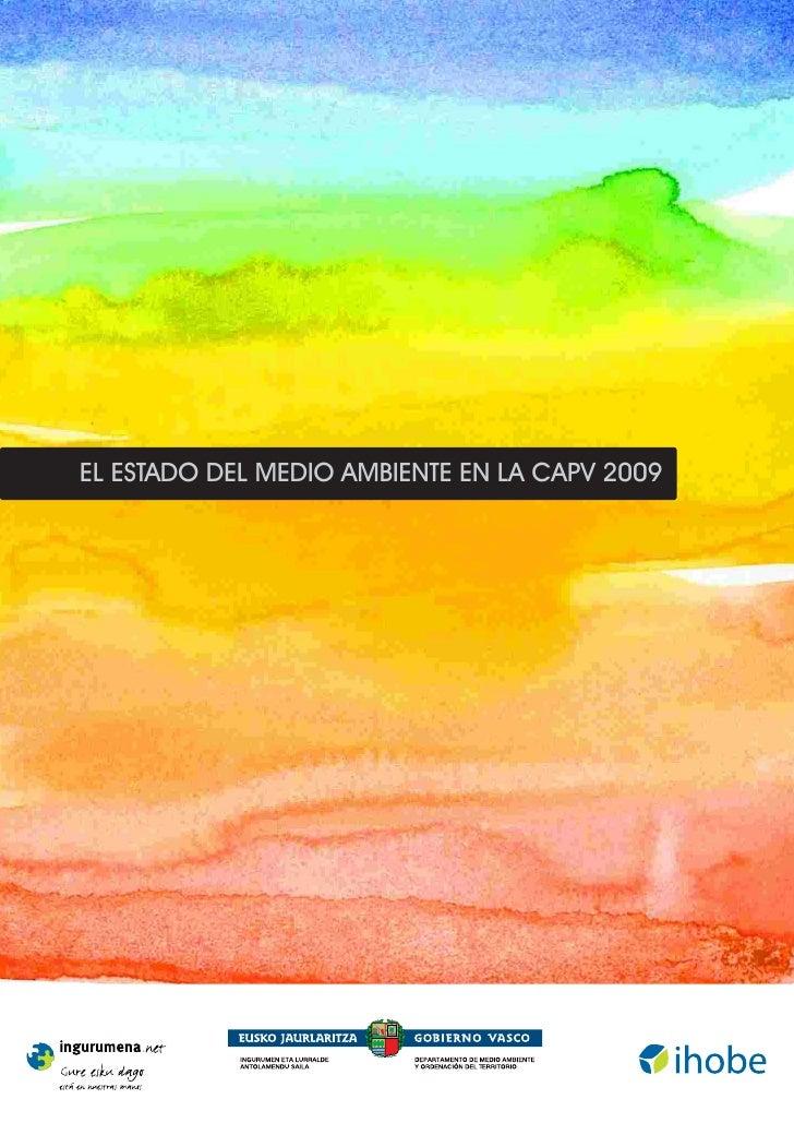 EL ESTADO DEL MEDIO AMBIENTE EN LA CAPV 2009