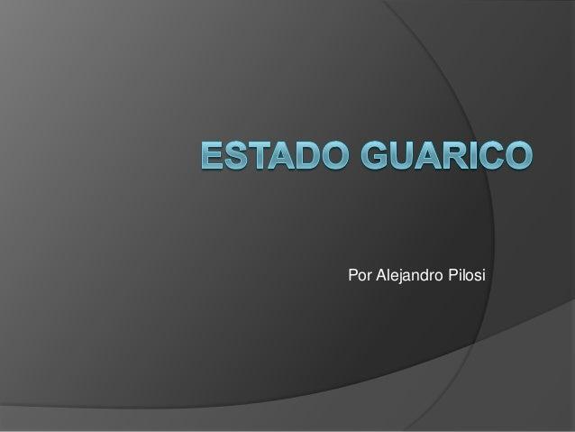 Por Alejandro Pilosi