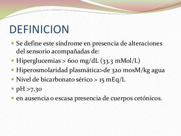 Estado hiperosmolar hiperglicemico