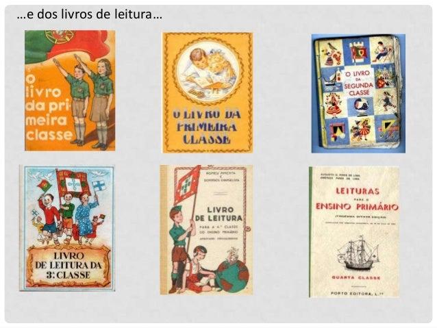 …e dos livros de leitura…