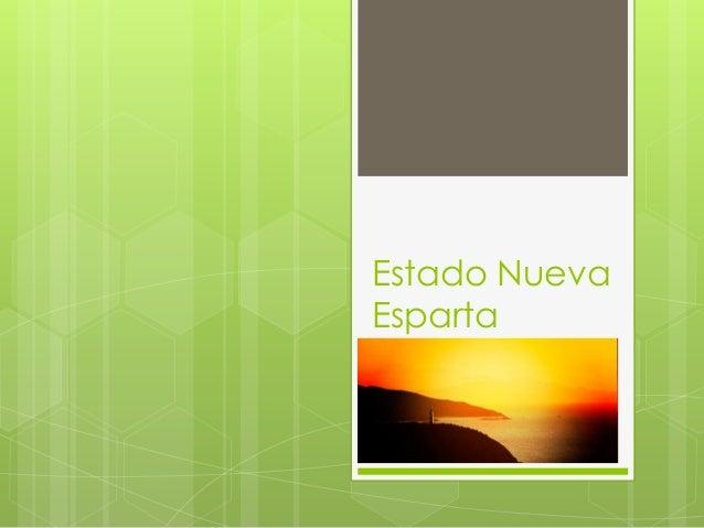 Estado NuevaEsparta