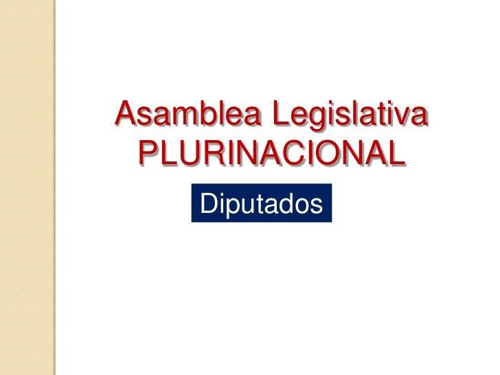 Senadores en la Asamblea Legislativa plurinacional<br />TARIJA<br />Rhina Aguirre Amezaga (MAS) y Darío Marcelo Gareca Car...