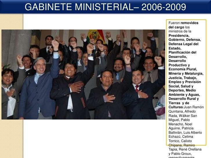 Senadores en la Asamblea Legislativa plurinacional<br />BENI<br />      Freddy Bersatti Tudela (MAS) y Tania Ynes    Melga...