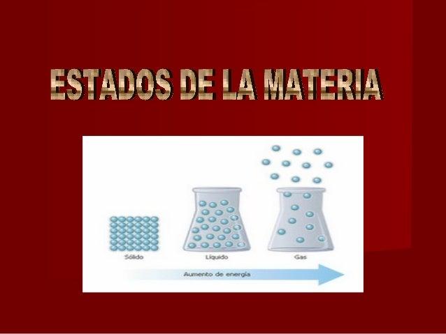 Cuadro Comparativo De Las Caracteristicas De Los Estados De La Materia
