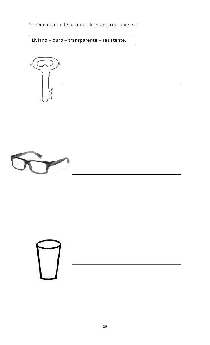 Estados de la materia y tipos de materiales.