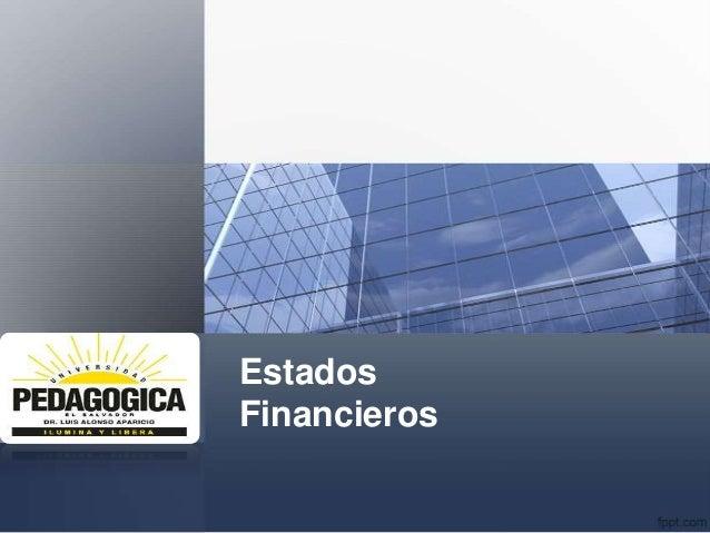 EstadosFinancieros